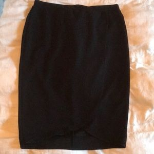 Cute Black Tulip Skirt
